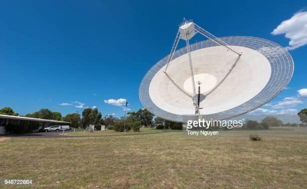 CSIRO Parkes Radio Telescope, located in central west NSW, one of the telescopes comprising CSIRO's Australia Telescope National Facility.