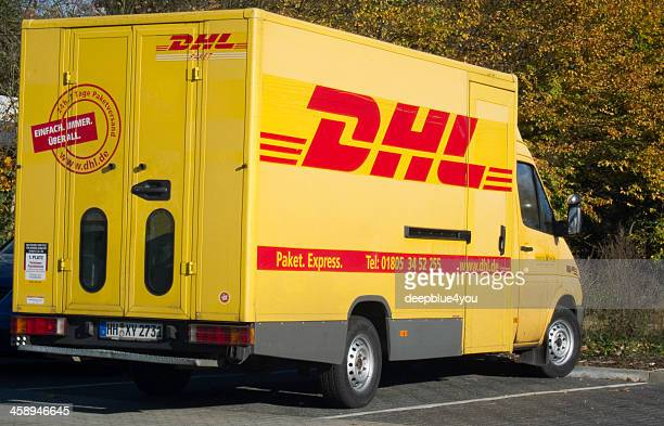 Parking DHL Delivery vehicle