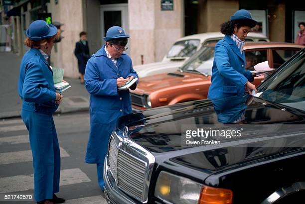 Parking Enforcement Officers at Work
