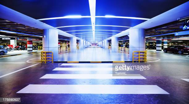 parking garage in singapore - parking garage stock pictures, royalty-free photos & images