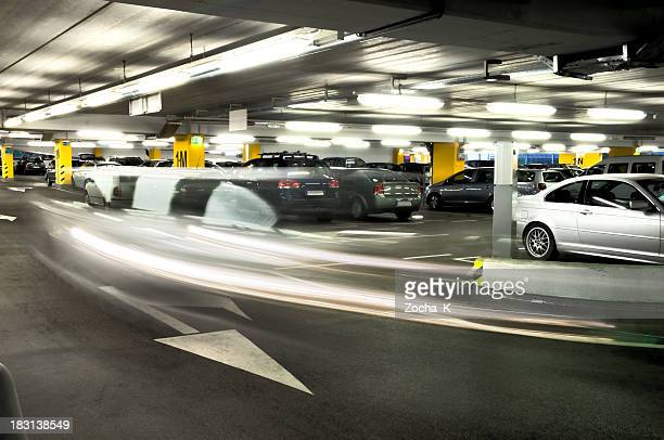 parking garage - car park stock pictures, royalty-free photos & images