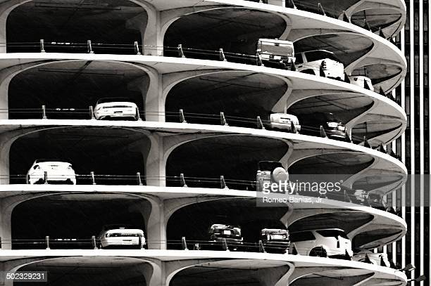 Parking in Chicago's Marina Towers.