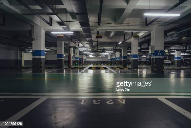 parking lot - building story stock pictures, royalty-free photos & images