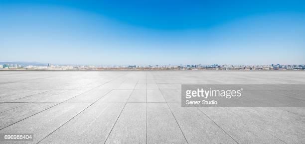 parking lot - terrasse panoramique photos et images de collection
