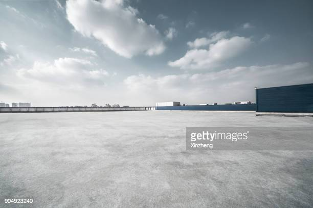 parking lot - concrete stock pictures, royalty-free photos & images