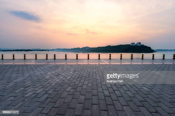 parking lot - pier stock pictures, royalty-free photos & images