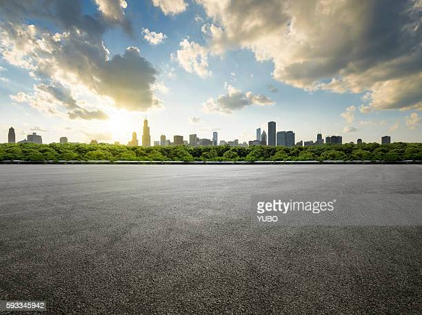 Parking lot-Chicago