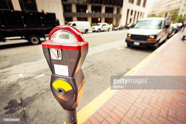 parking meter, san francisco - parking meter stock photos and pictures