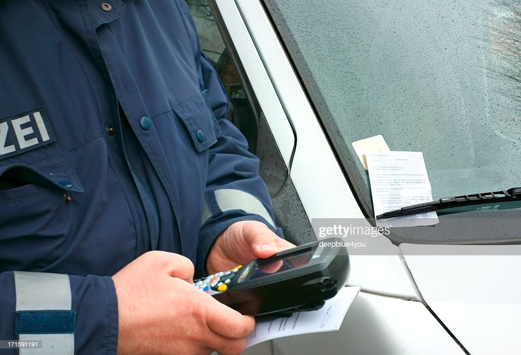 Parking prohibition : Stock Photo