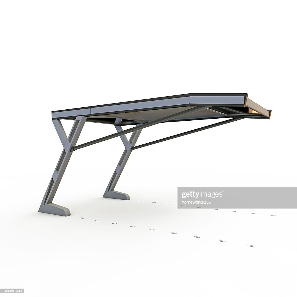 parking shelter : Stock Photo