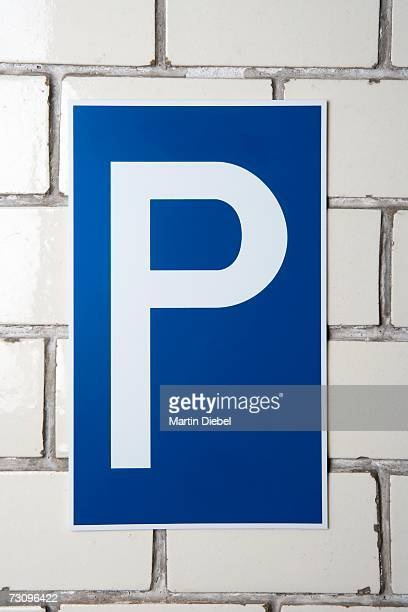 ?parking? sign - letter p stock pictures, royalty-free photos & images