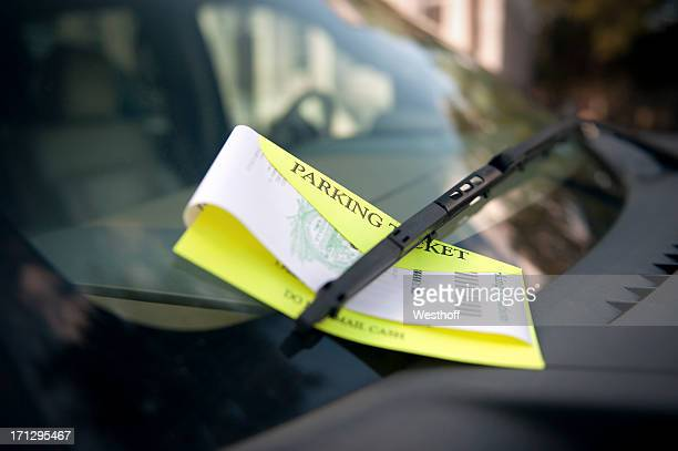 parking ticket - forbidden stock pictures, royalty-free photos & images