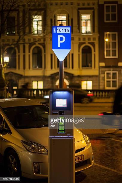 Parking ticket vending machine Amsterdam