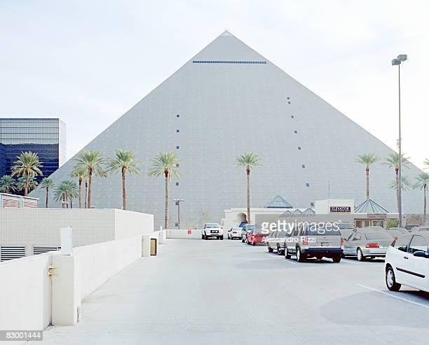 Parking under the Pyramid