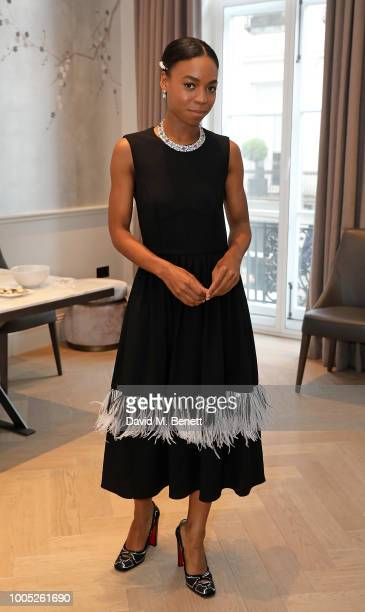 A parkling affair at Boodles in celebration of Pippa BennettWarner's 30th birthday and the recent success of Harlots on Hulu on July 25 2018 in...