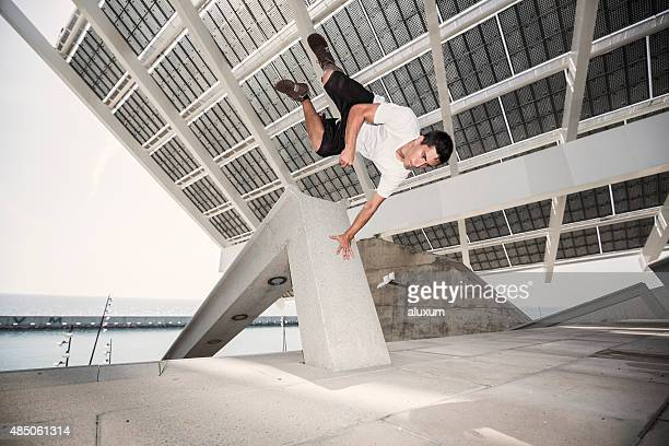 Parkour in the city