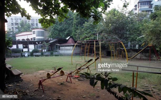 Parks and Gardens Bhajan Samaj Temple at Garodia Nagar in Ghatkopar