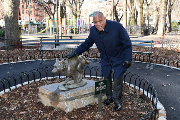 NY: Disney+ And NYC Department Of Parks Install Plaque That Honors Bronze Statue Of The Husky Named Togo In Seward Park