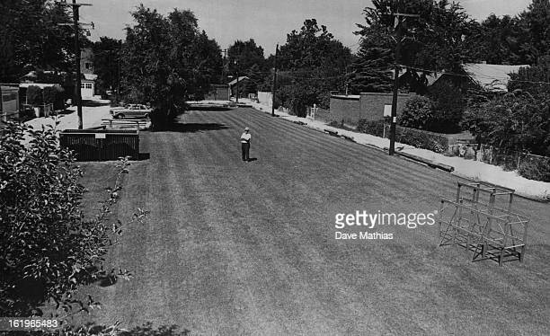AUG 24 1965 AUG 26 1965 Parks Denver Neighbors Convert Dump to Park Frank M Hart 740 Clayton St stands proudly in the center of a neighborhood beauty...