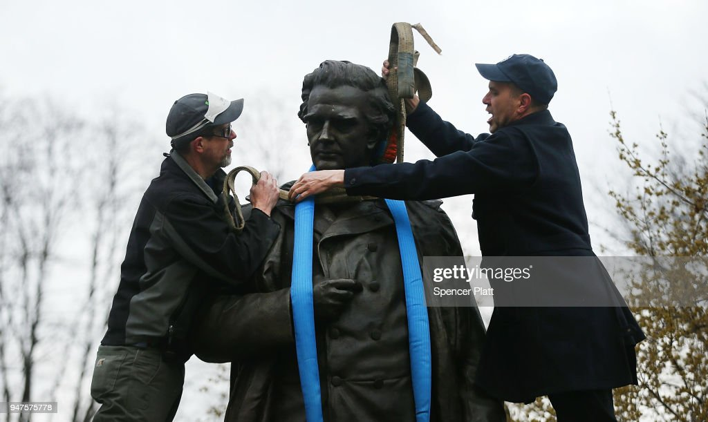 Controversial NY Statue Is Removed