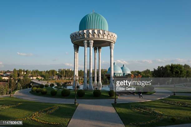 parks in tashkent - uzbekistan stock pictures, royalty-free photos & images