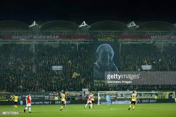 Parkstad Limburg Stadium during the Dutch Eredivisie match between Roda JC v Feyenoord at the Parkstad Limburg Stadium on October 28 2017 in Kerkrade...