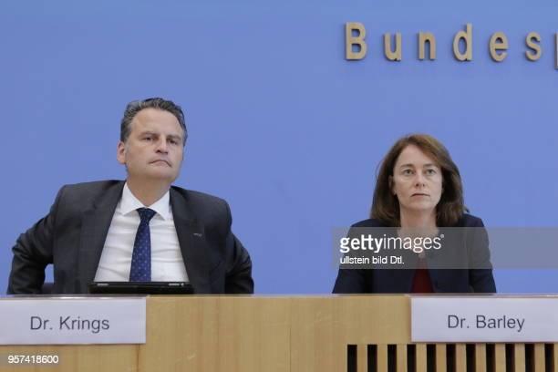 Parlamentarischer Staatssekretär Dr Günter Krings BMI Bundesministerin für Familie Senioren Frauen und Jugend Dr Katarina Barley Deutschland Berlin...