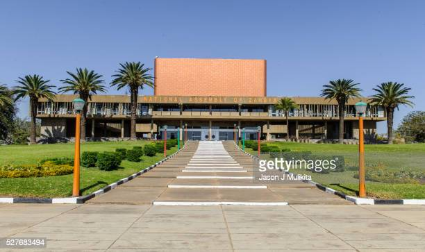 parliament building in lusaka zambia - zambia stock pictures, royalty-free photos & images