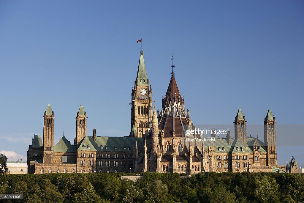 Parliament Building in Ottawa : Stock Photo