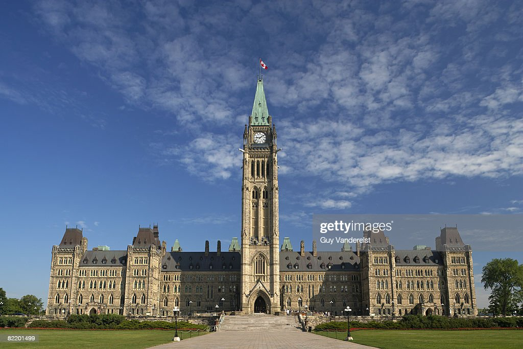 Parliament Building in Ottawa : Stock Photo