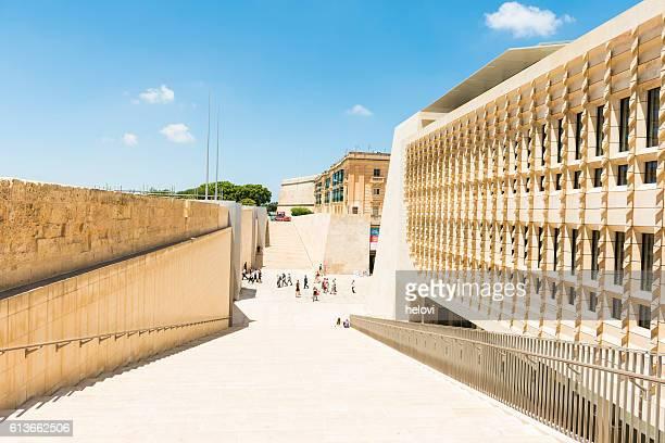 Parliament building in Valletta, Malta