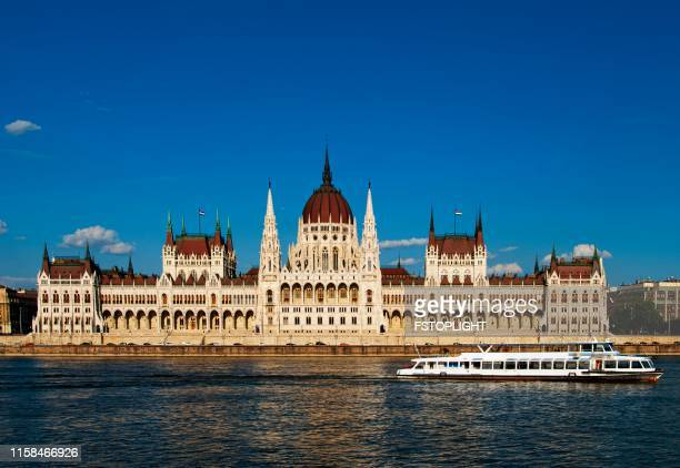 Parliament building of Budapest city