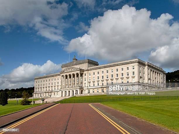 parliament buildings, stormont - stormont stock photos and pictures