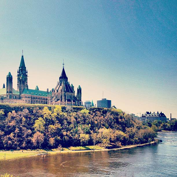 Parliament Hill and the Ottawa River