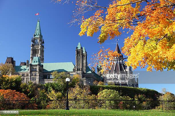 Parliament Hill in Autumn