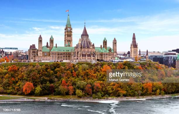 Parliament Hill in Fall, Ottawa, Ontario, Canada