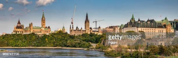 Parliament Hill in Ottawa Ontario Canada