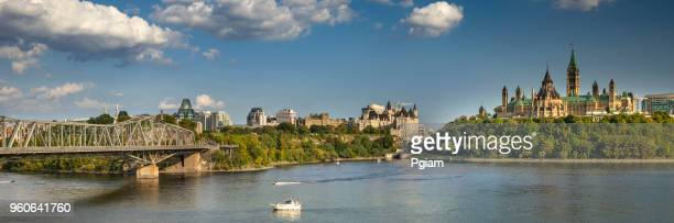 parliament hill in ottawa ontario canada - ottawa stock pictures, royalty-free photos & images