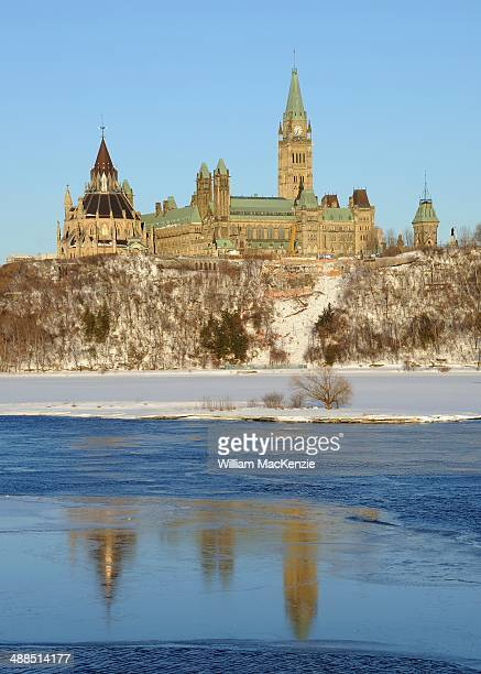 CONTENT] Parliament Hill including the Centre Block and Library of Parliament