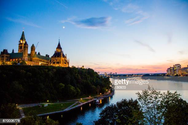 parliament hill ottawa, canada - ottawa stock pictures, royalty-free photos & images