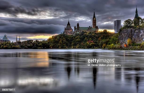 Parliament hill sunrise
