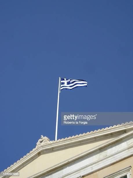 parliament house, athens, greece - ギリシャ国会議事堂 ストックフォトと画像