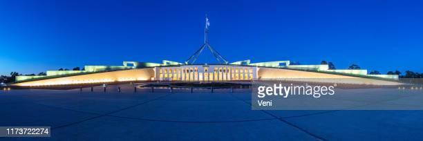 国会議事堂, キャンベラ, オーストラリア - オーストラリア国会議事堂 ストックフォトと画像