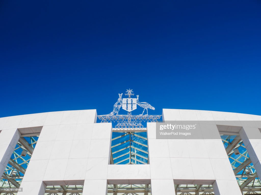 Parliament House in Canberra, Australia : Stock Photo