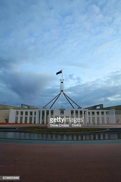 Parliament House is the meeting facility of the Parliament of Australia located in Canberra the capital of Australia The building was designed by...