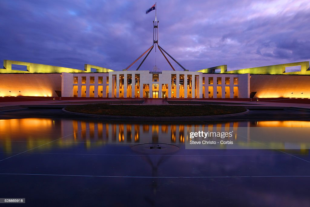 parliament house is the meeting facility of the parliament of in picture id528865918 - View Australian Parliament House Press Gallery  Images