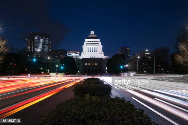 Parliament house, national diet buiding in Tokyo, Japan