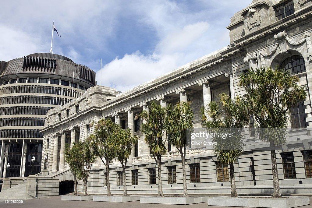 Parliament House, New Zealand : Stock Photo