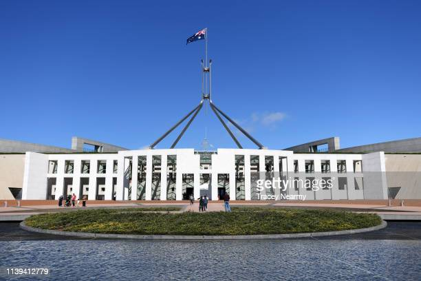 Parliament House on March 31, 2019 in Canberra, Australia.
