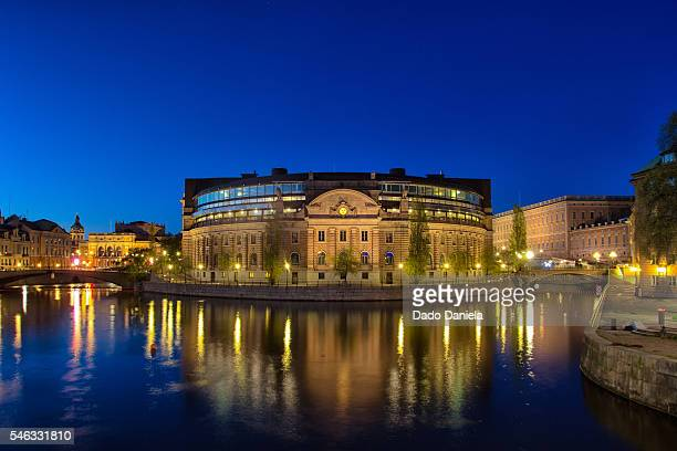 Parliament house Stockholm Sweden